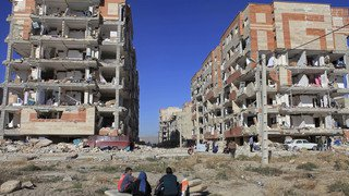Tremblement de terre meurtrier en Iran/Irak