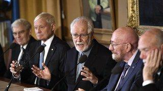 Stockholm: le Romand Jacques Dubochet reçoit le prix Nobel de chimie ce dimanche