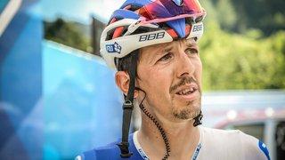 Steve Morabito, blessé à l'épaule, n'a pas pris le départ de la troisième étape