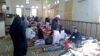Carnage dans une  mosquée du Nord-Sinaï
