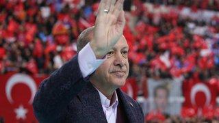 Erdogan se positionne en héraut du monde musulman