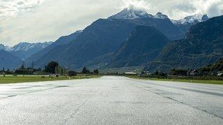 Aéroport de Sion: de nouvelles restrictions de vols prévues