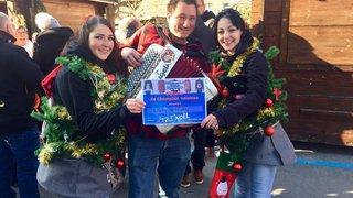 Audrey Conus et Vicky Gnos, championnes du pull le plus moche de Noël