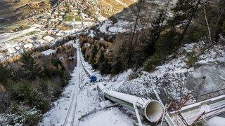 La réhabilitation de l'aménagement hydroélectrique des Forces Motrices d'Orsières est en cours de réalisation