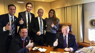 """Pour l'An Un, Trump félicite """"tous les pitoyables"""" sur un tweet"""