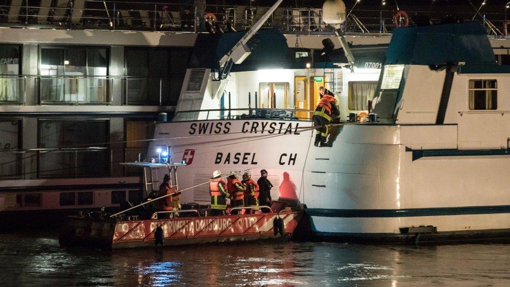 Le «Swiss Crystal» se rendait  aux Pays-Bas.