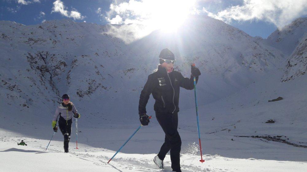 Voilà plus de quinze ans que le Valais francophone n'avait plus de circuit de ski de fond.