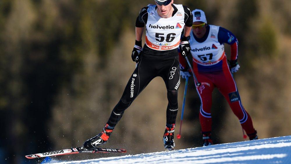 Candide Pralong peut assurer son ticket olympique avec un top 25 lors d'une étape du Tour de ski.