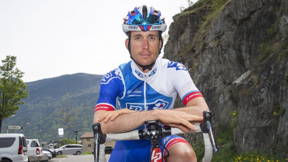 Sébastien Reichenbach est remonté sur son vélo de route début décembre. Depuis, il peut s'entraîner tout à fait normalement.