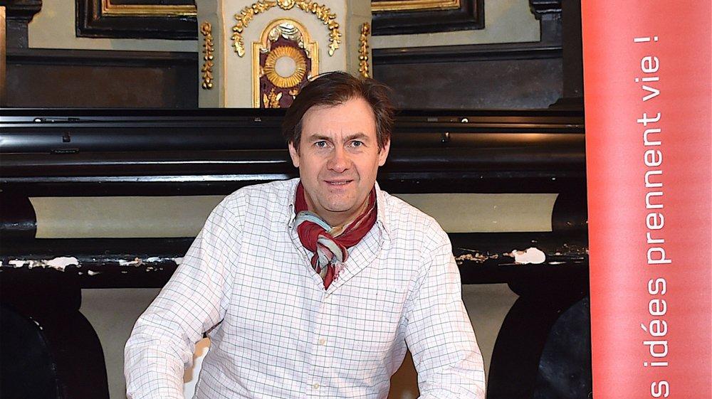 Benoît Dubuis, fondateur de l'Espace Creation.