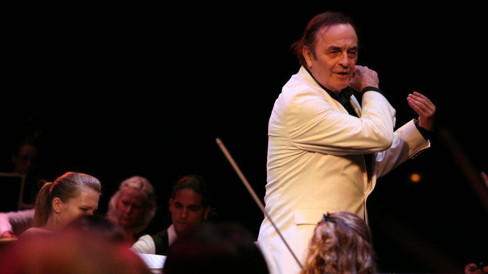 Charles Dutoit a dirigé le Verbier Festival Orchestra pendant neuf ans, de 2009 à 2017.