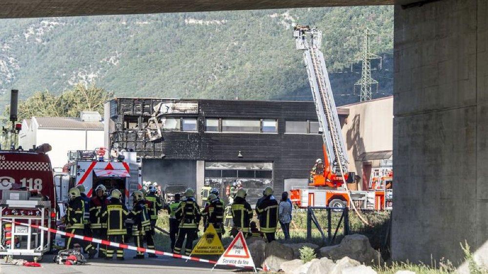 L' incendie n'avait pas fait de blessé, mais avait détruit en partie le centre de triage, inauguré en 2014.