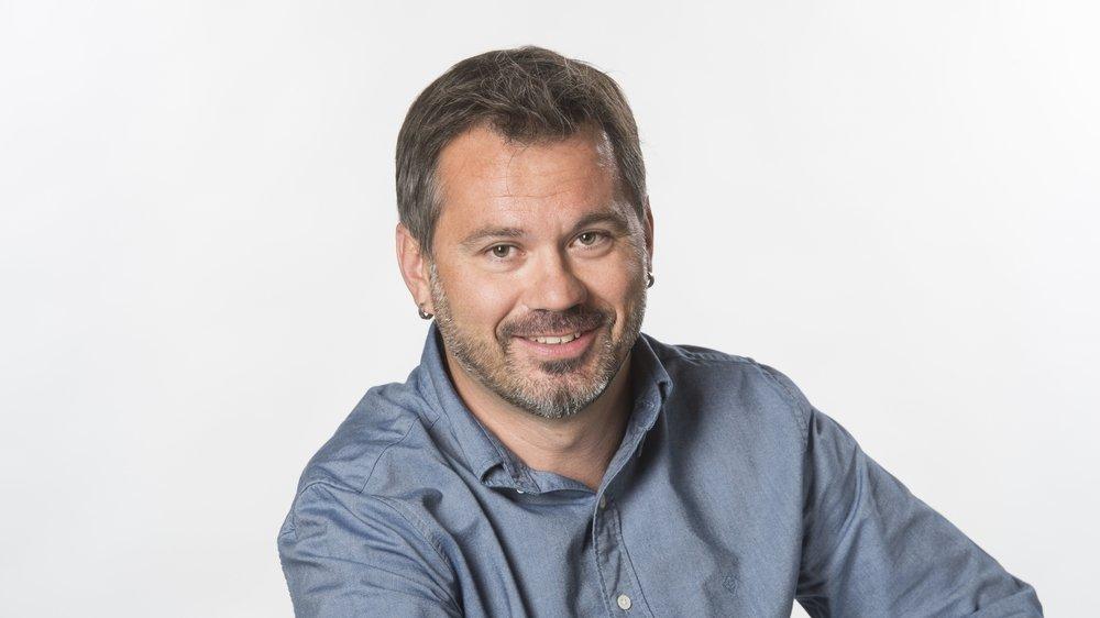 Olivier Hugon, responsable de l'Info en continu générale ESH.