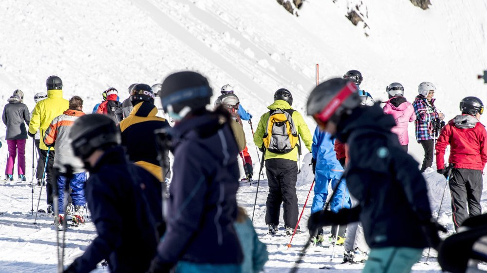 Aux Marécottes, les skieurs ont été très nombreux durant ces fêtes. Seul bémol, la tempête Eleanor qui a touché le domaine durant trois jours.