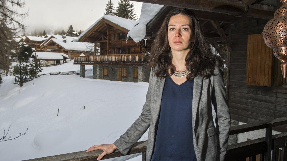 """Nadja Froidevaux, responsable du projet de Verbier pour SOS Médecins, juge les autorisations délivrées par le canton """"rédhibitoires"""". Dans ces conditions, la société refuse d'exercer cet hiver."""