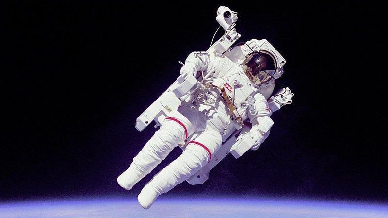 Carnet noir: décès de l'astronaute Bruce McCandless II