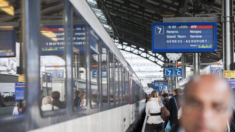 CFF: des suppressions de trains et des retards toujours attendus sur la ligne Genève-Lausanne