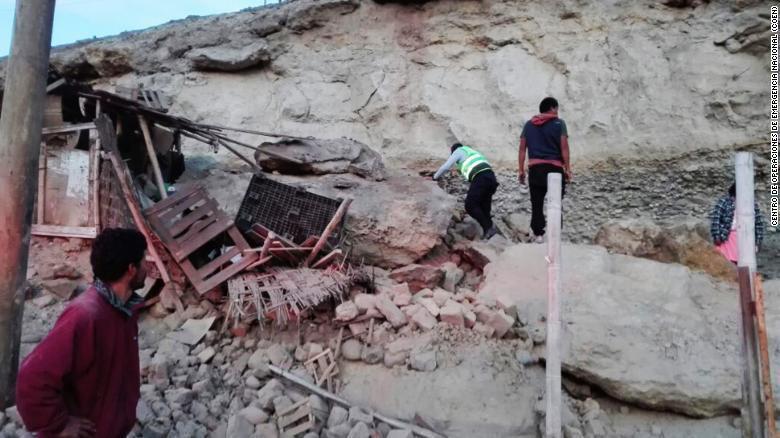 """Le Pérou se trouve dans une zone de forte activité sismique, aussi appelée """"ceinture de feu du Pacifique""""."""
