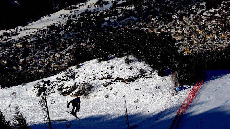 Ski alpin: les Suisses distanciés lors du premier entraînement de la descente à Bormio