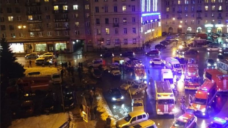 Russie: explosion dans un supermarché à Saint-Pétersbourg, dix blessés