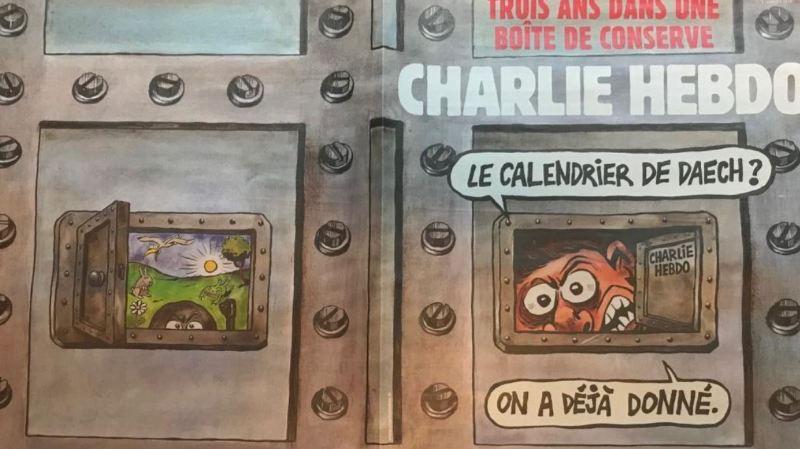 """Terrorisme: """"La satire reste indispensable"""" selon le rédacteur en chef de Charlie Hebdo"""