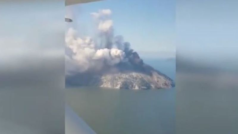 Papouasie-Nouvelle-Guinée: un volcan se réveille et provoque des centaines d'évacuations