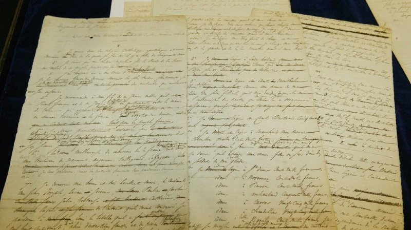 Enchères: un manuscrit de Balzac a été vendu à 1,36 million de francs