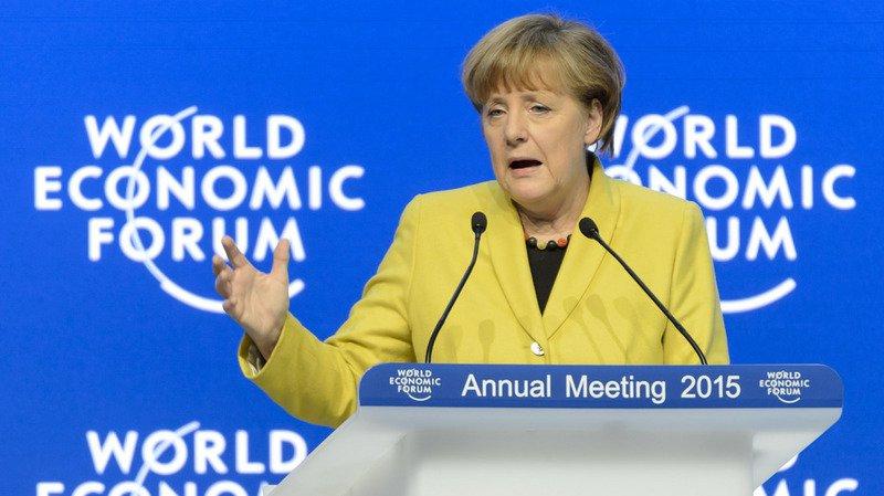 WEF 2018: présence d'Angela Merkel confirmée à Davos