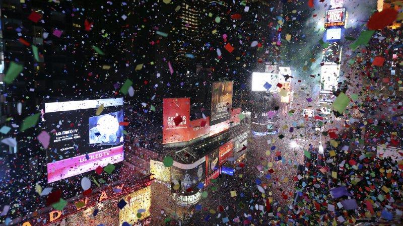 Dimanche deux millions de personnes sont attendues pour passer fêter Nouvel An à Times Square par -10 degrés