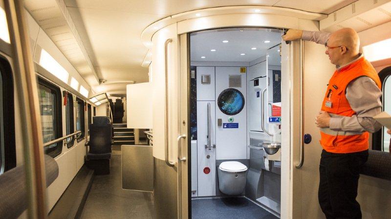 CFF: les toilettes des trains suscitent la grogne des usagers