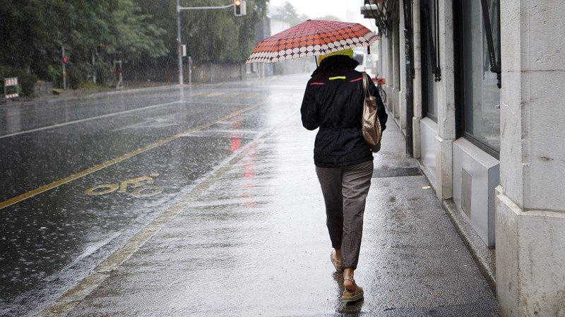 Météo: la Suisse frappée par de fortes précipitations et des vents violents