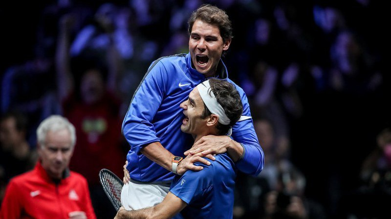 """Tennis: Federer et Nadal désignés """"champions des champions 2017"""" par L'Equipe"""