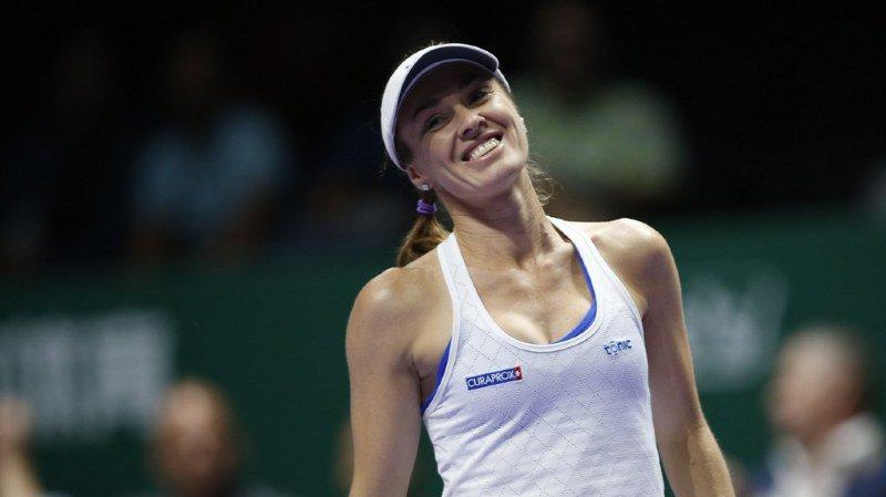 Tennis: Martina Hingis comme coach avec la Suisse à la Fed Cup