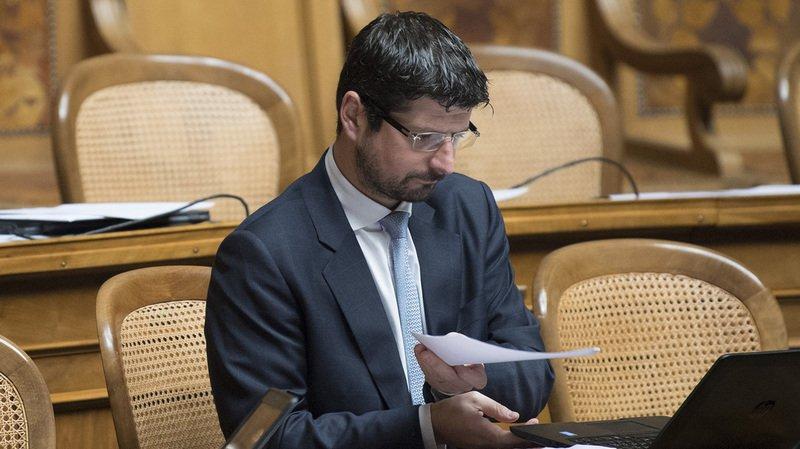 À la demande de son parti, Yannick Buttet reprendra son poste de président de la commune de Collombey-Muraz quand sa santé sera rétablie (archives).