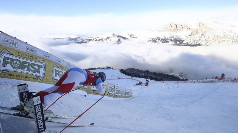 Ski alpin à Val Gardena: aucun Suisse dans le top 20 à l'entraînement