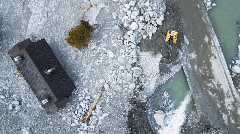 Éboulement de Bondo: la coulée était un enchaînement d'événements naturels très rares