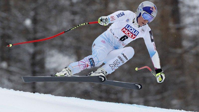 Ski alpin: Lindsey Vonn déclare forfait pour le 2e super-G de Val d'Isère