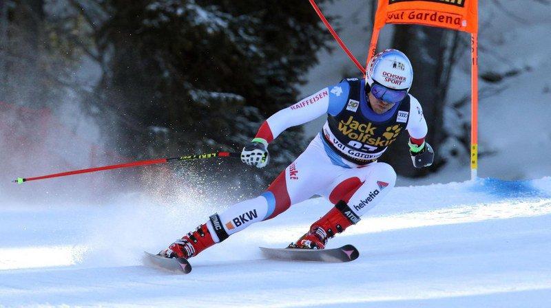 Meilleur Suisse, et slalomeur correct, Mauro Caviezel (8e à 1''05) a les moyens de se rapprocher du podium.