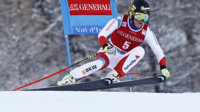Meilleure Suissesse, Lara Gut termine 4e.