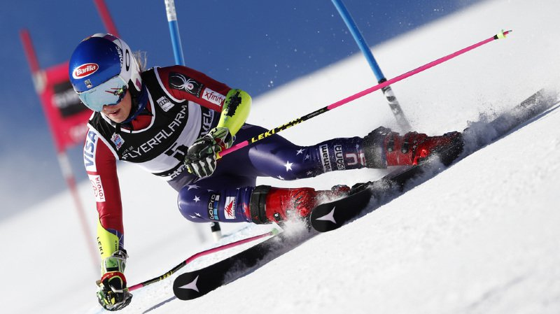 Ski alpin: Shiffrin en tête, Mélanie Meillard 7e