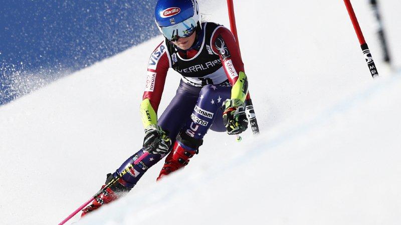 Ski alpin:  Shiffrin remporte le Géant de Courchevel, Mélanie Meillard arrive 6e