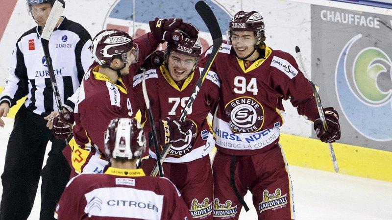 Hockey - National League: Genève-Servette a battu Kloten 4 à 1