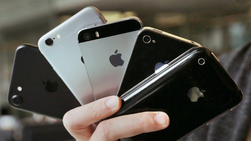 Apple bride des systèmes d'exploitations pour freiner les anciens iPhones
