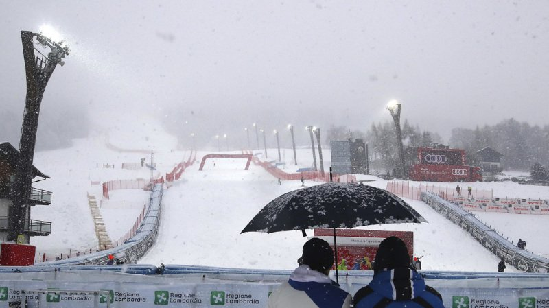 Coupe du monde de ski alpin: départ de la descente hommes repoussé à 12h30