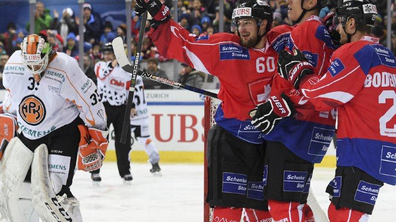 Hockey: la Suisse se qualifie directement pour les demi-finales de la Coupe Spengler
