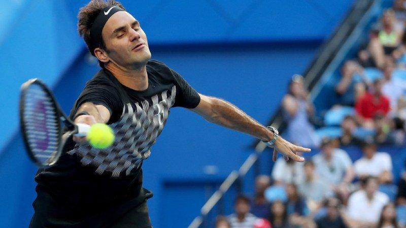 """Profitant de l'aubaine de n'affronter """"que"""" le matricule 40 à l'ATP, le no 2 mondial a cherché à passer en revue presque tout l'éventail de ses coups."""