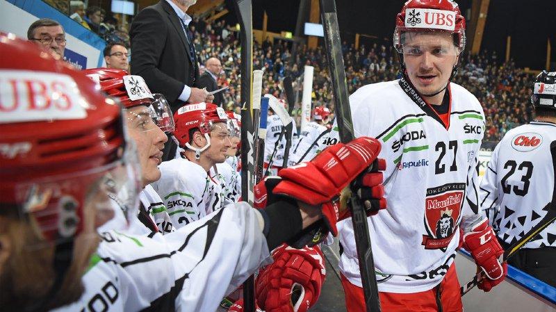 Hockey: Mountfield affrontera le Team Canada en demi-finale de la Coupe Spengler