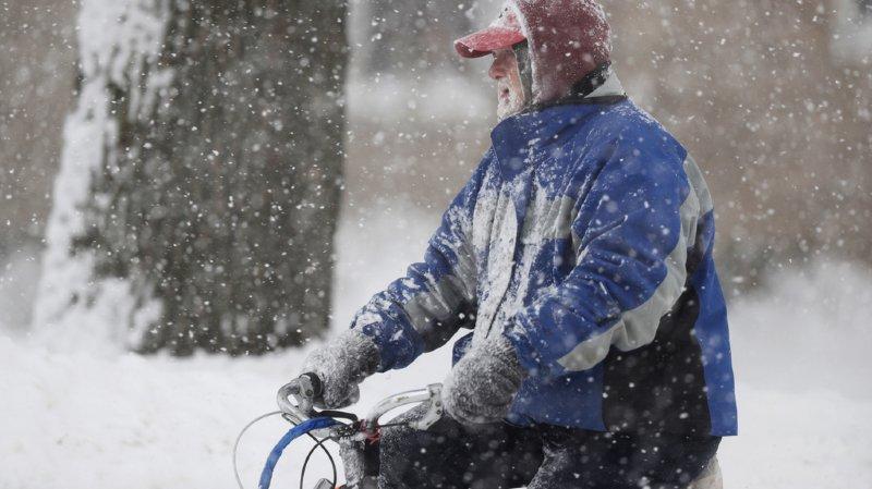 Le froid polaire touche presque l'ensemble du pays avec des températures atteignant parfois -40 degrés.