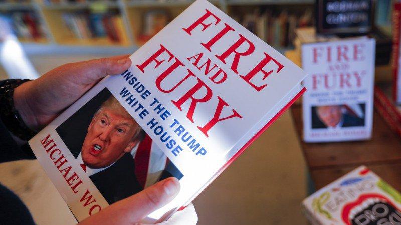 """Etats-Unis: Trump raille """"Fire and Fury"""", le livre qui met en doute sa capacité à gouverner"""