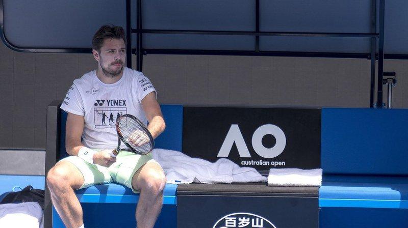 Open d'Australie: Stan Wawrinka ne sait pas encore s'il participera au tournoi